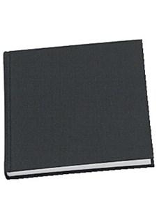 Muistikirja GRIEG Trend 100 g sidottu viivaton musta